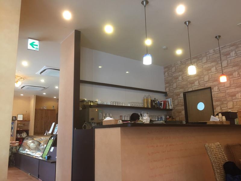 オプティマタンに併設のカフェ