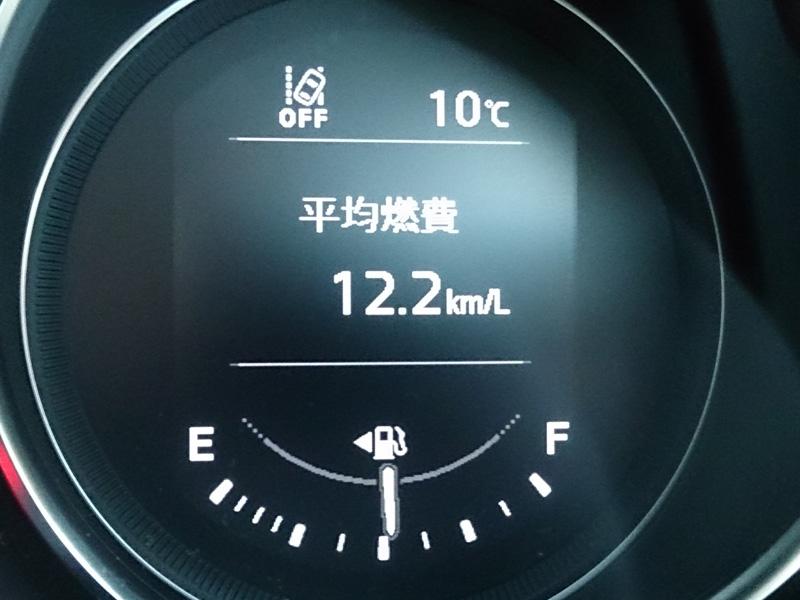 マツダCX-5 ディーゼル車の燃費