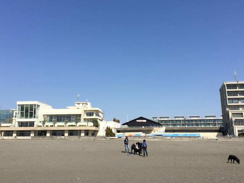 ビーチに繋がる『ササンビーチカフェ』
