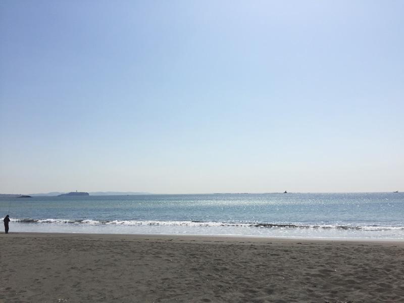 ササンビーチカフェの側には海がある