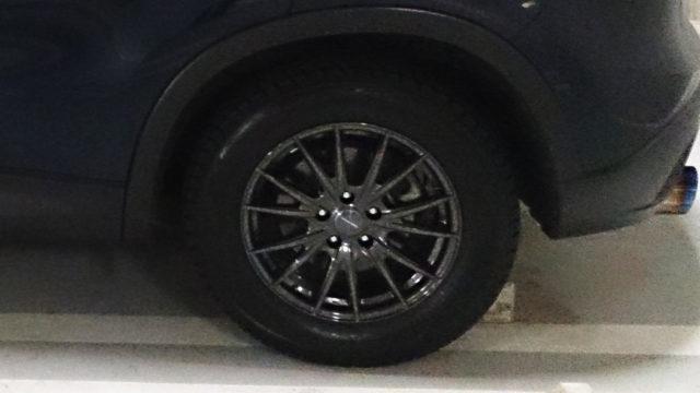 CX-5のAWD性能評価!雪上走行にスタッドレスタイヤを履いて!