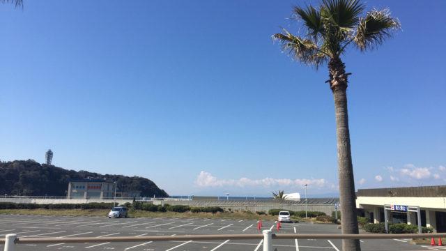 湘南江ノ島のエッグスンシングス&GARB(ガーブ)駐車場選びに!